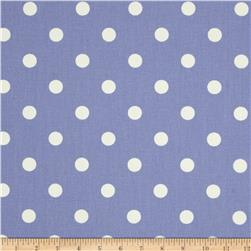 Premier Prints Polka Dot Julie Lavender /White Fabric