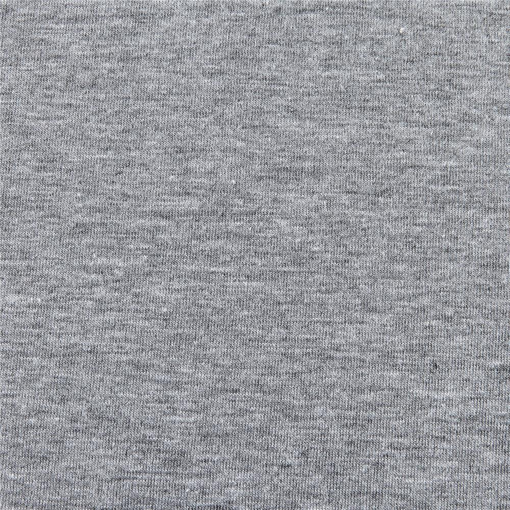 Cotton Lycra Spandex Jersey Knit Heather Gray Fabric