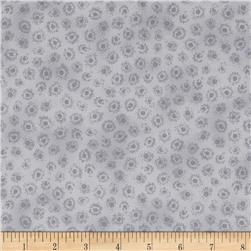 Lola Dot Geometric Light Grey Fabric