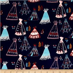 Birch Organic Interlock Knit Wildland Teepees Dusk