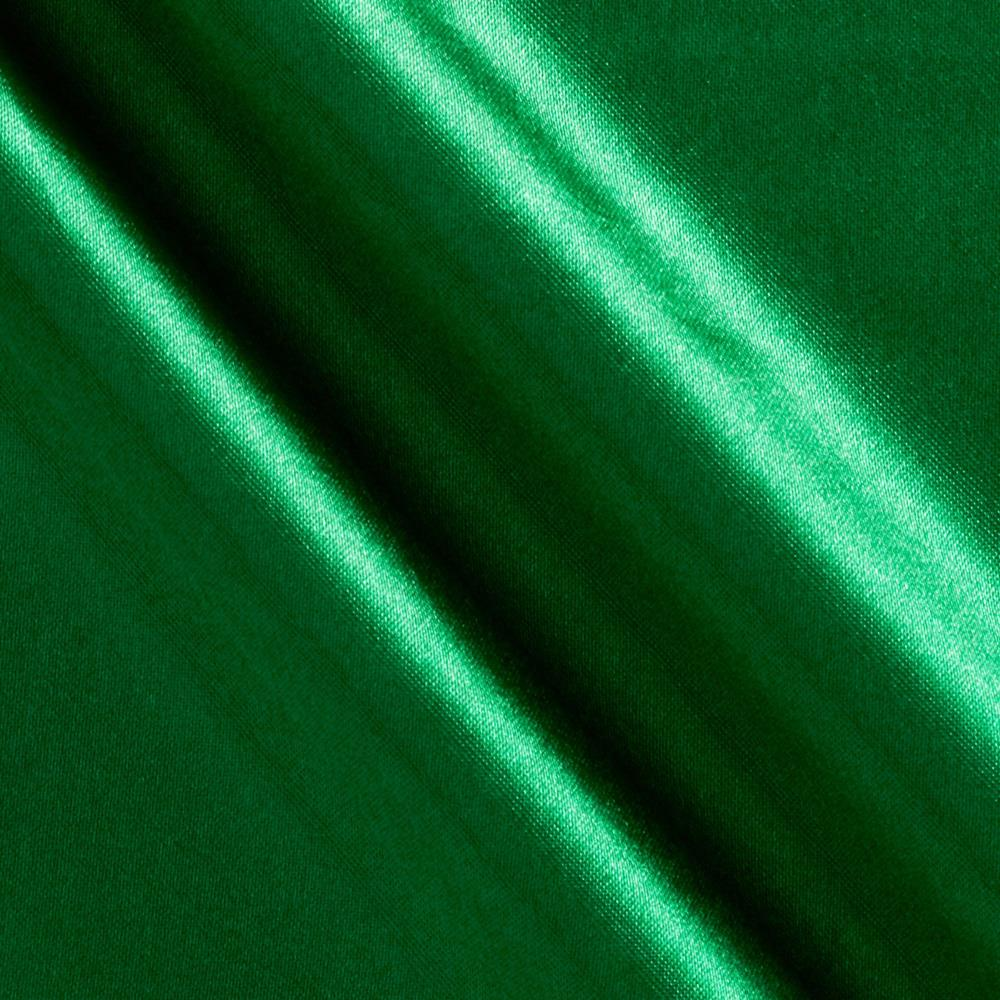 Costume satin green discount designer fabric for Green fabric