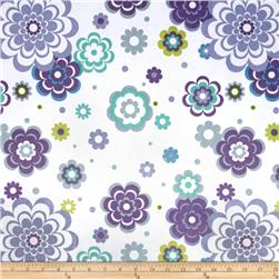 Minky Fantasy Blue/Purple