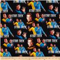 Star Trek Logo  Spock and Captain Black