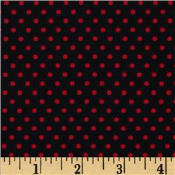 Spotlight Dots Red/Black