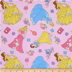 Princess Toss on Dot Fabric