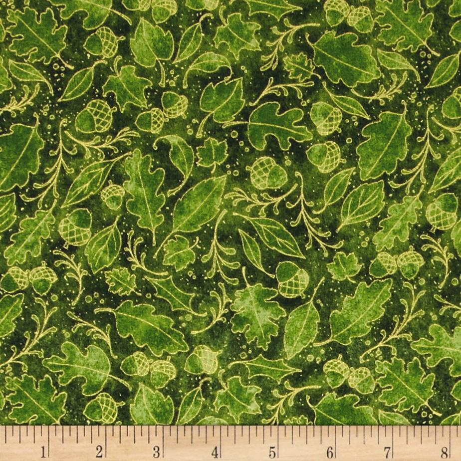 Harvest Bounty Leaf  Green