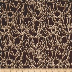 Forest Antlers Brown