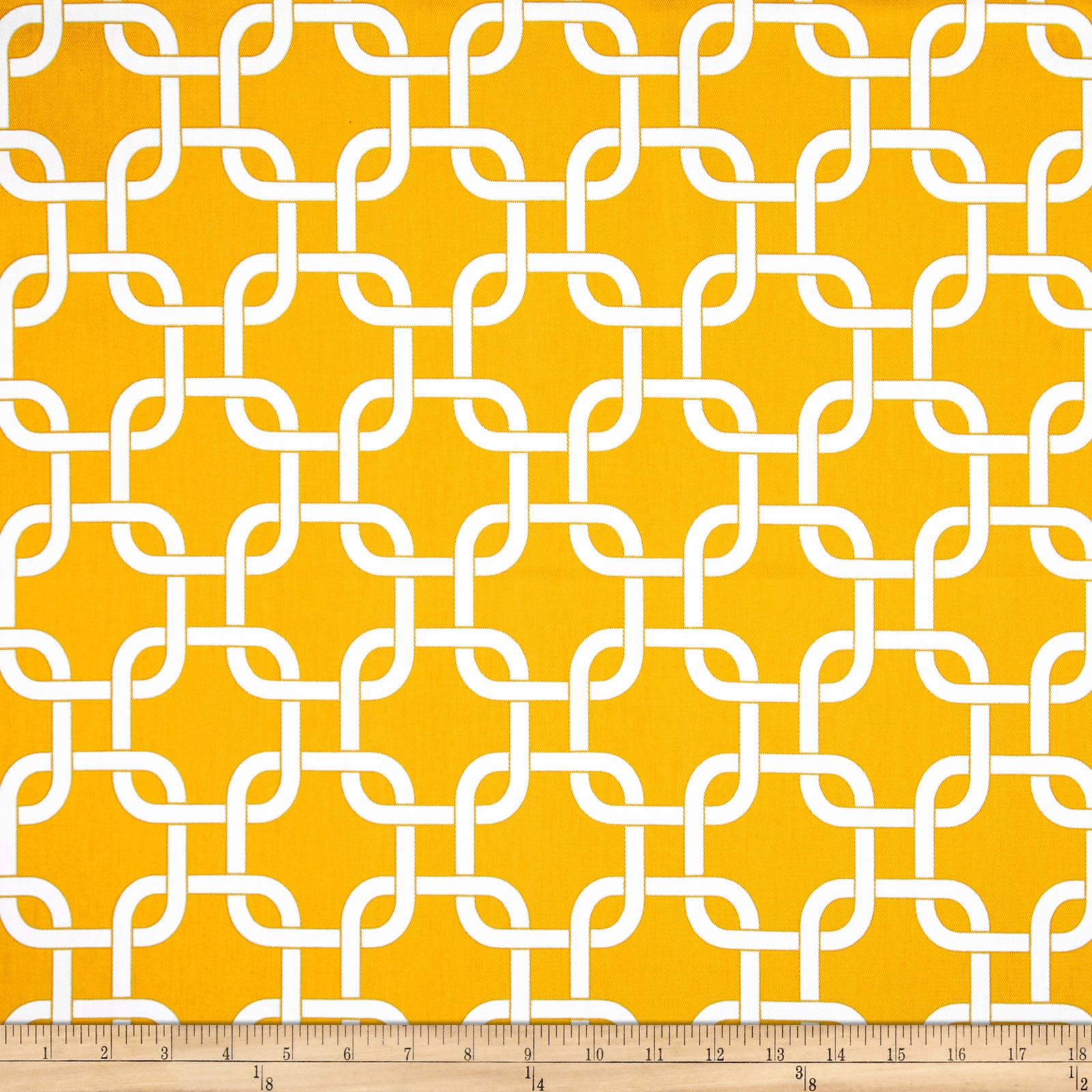 Premier Prints Indoor/Outdoor Gotcha Yellow Fabric