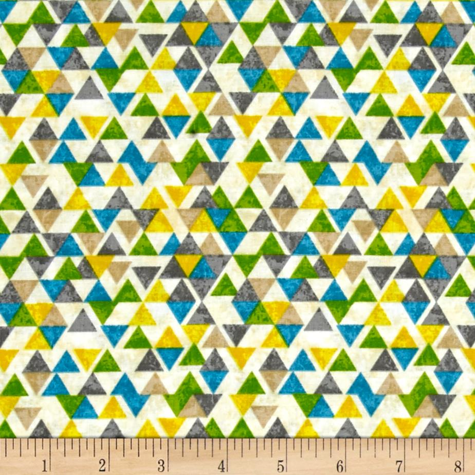 Safari Expedition Triangles Ivory