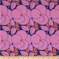 Amy Butler Hapi Heart Bloom Rose Fabric