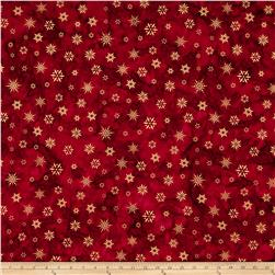 Kaufman Batiks Noel Metallic Snowflake Holiday
