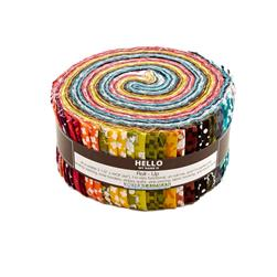 "Kaufman Rhonda Ruth 2.5"" Roll Up Multi"