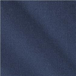 Poly Rayon Linen Look Navy