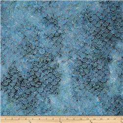 Timeless Treasures Tonga Batik Pacifica Scallop Pacific