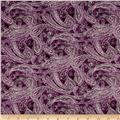 Chelsea Paisley Royal Purple