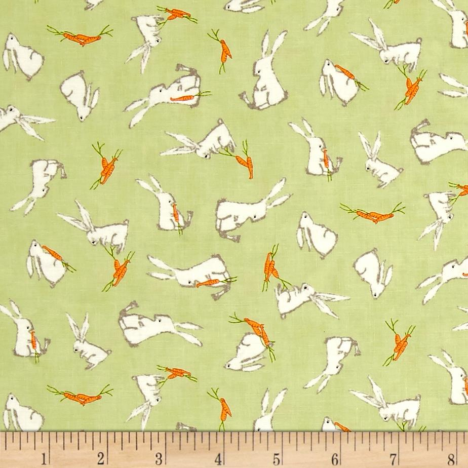 Moda Darling Little Dickens Bunnies Spring