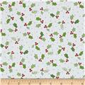 Maywood Studio Jingle All The Way Holly & Berries White