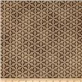 Kaufman Imperial Collection Metallic Grid Antique
