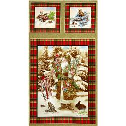 Old World Christmas 24 In. Old World Panel Metallic Gold Detail