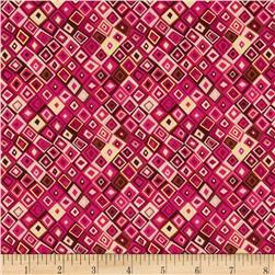 Aurelia Diamonds Metallic Pink