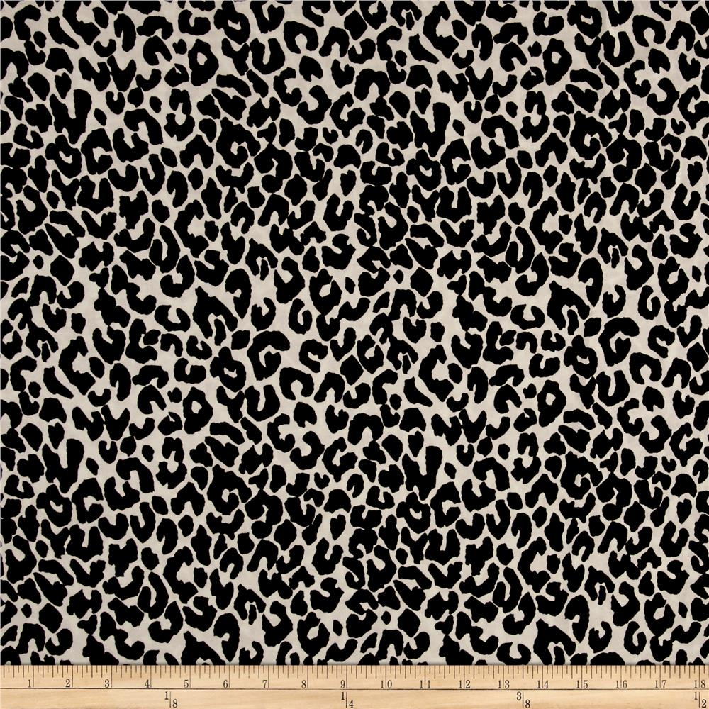 Chiffon Cheetah Black/White