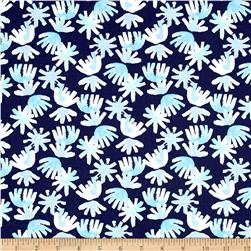 Aria Brushed Petals Navy
