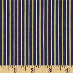 Fan-Tastic Pinstripe Purple/Gold