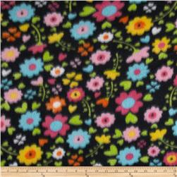 Fleece Print Clarissa Black