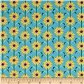Maryland State Flower Blackeyed Susan Blue/Yellow