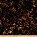 Island Batik French Roasted Fern Brwn/Gold/Grey