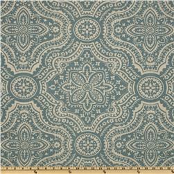 Premier Prints Dakota Damask Blend Cadet/Oatmeal Fabric