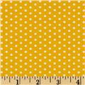Kaufman Spot On Pindot Yellow