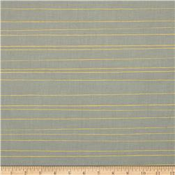 Cotton + Steel Cozy Metallic Pencil Stripe Grey