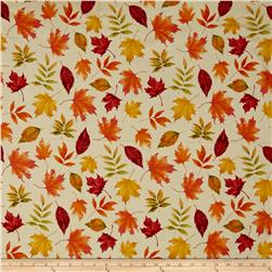 Penny Rose Autumn Hue Leaves Cream