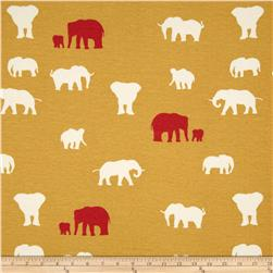 Birch Organic Serengeti Interlock Knit The Herd Sun