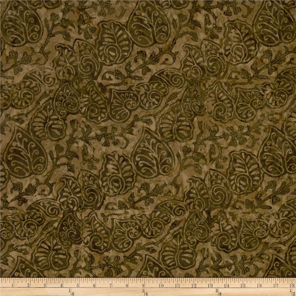 Tonga Batik Mocha Kiss String of Spades Cocoa