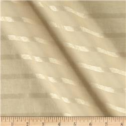 Eroica Fancy Stripe Sheer Khaki