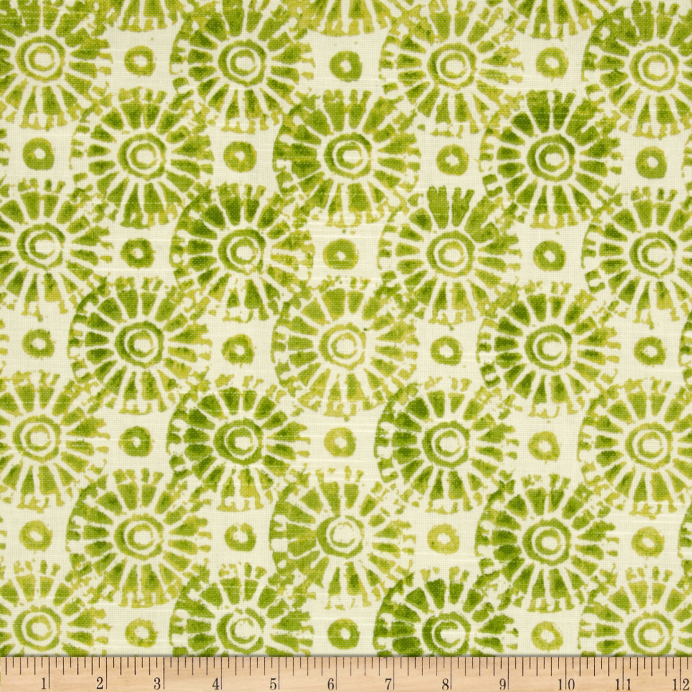 Home Accents Koi Slub Fern Fabric