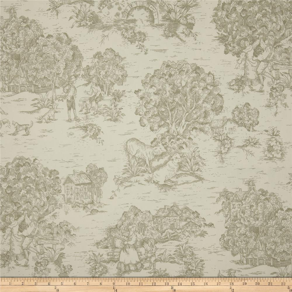 Magnolia Home Fashions Quaker Toile Homespun