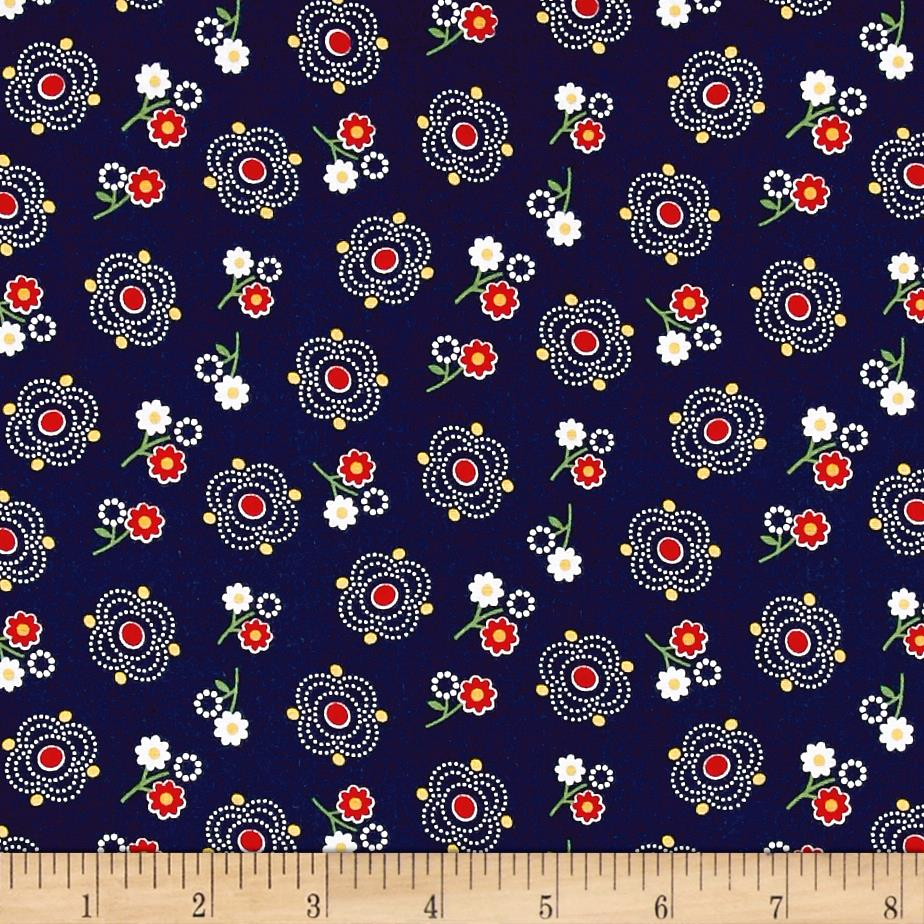 Penny rose gingham girls main navy discount designer for Gingham fabric