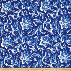 Bluebell Large Floral Blue