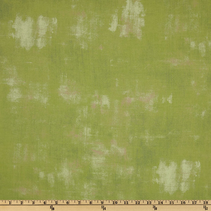 Moda Grunge (#30150-83) Spearmint Green Fabric