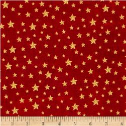 America The Beautiful Stars Red