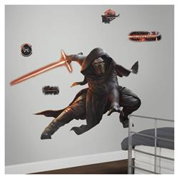 Star Wars Ep VII Kylo Ren Glow in the Dark Giant Wall Decal