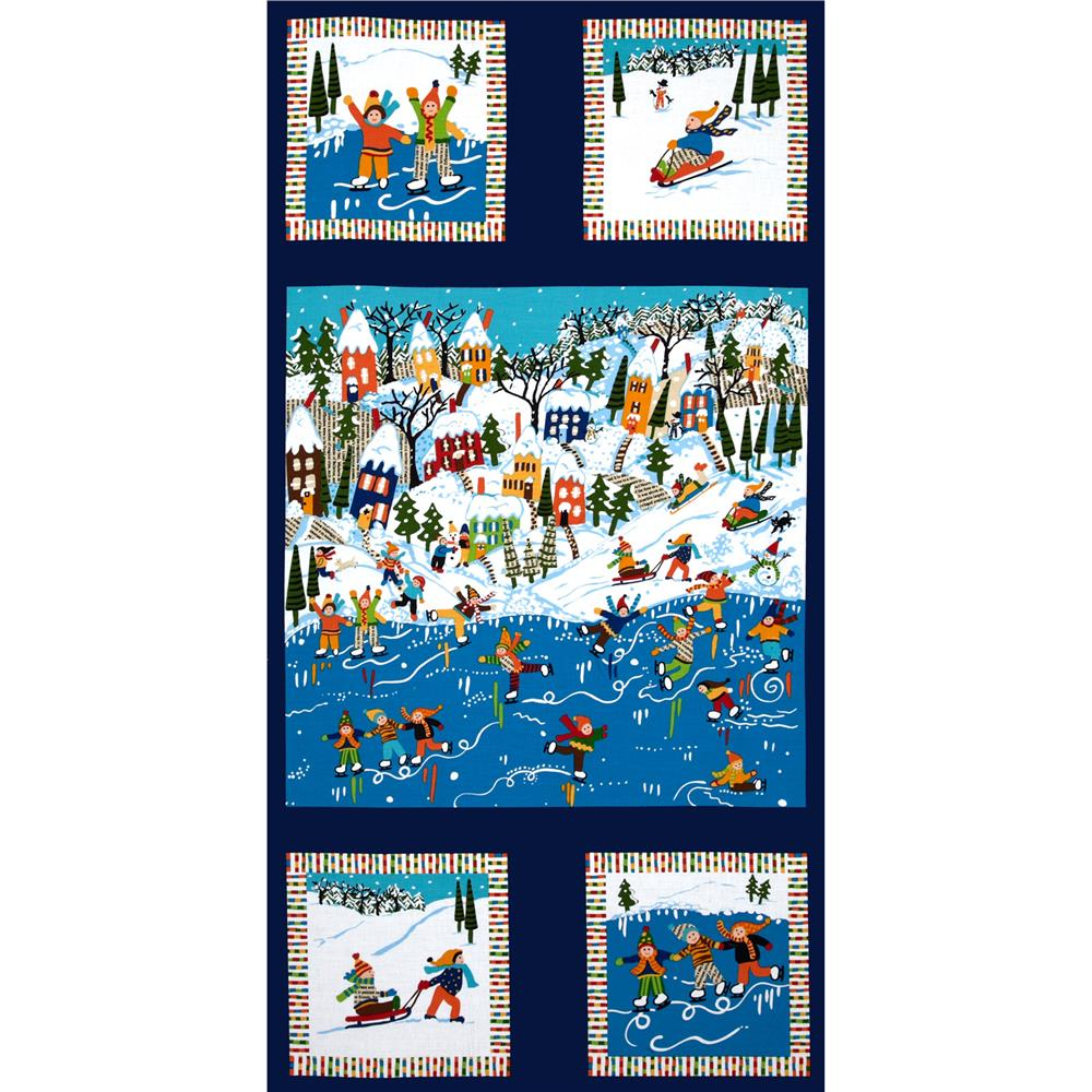 Good Seasons Winter Sports Panel Navy