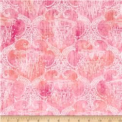 Royal Princess Castle Toile Dark Pink