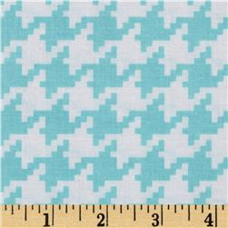 Michael Miller Everyday Houndstooth Aqua