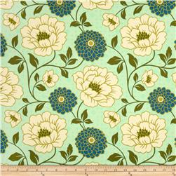 Joel Dewberry Bungalow Home Decor Sateen Dahlia Forest