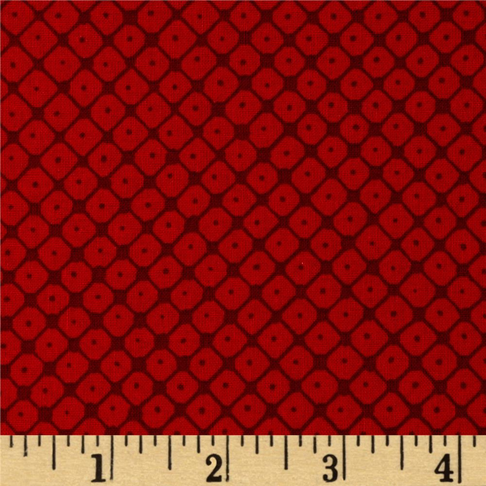 Valori Wells Small Grid Scarlet