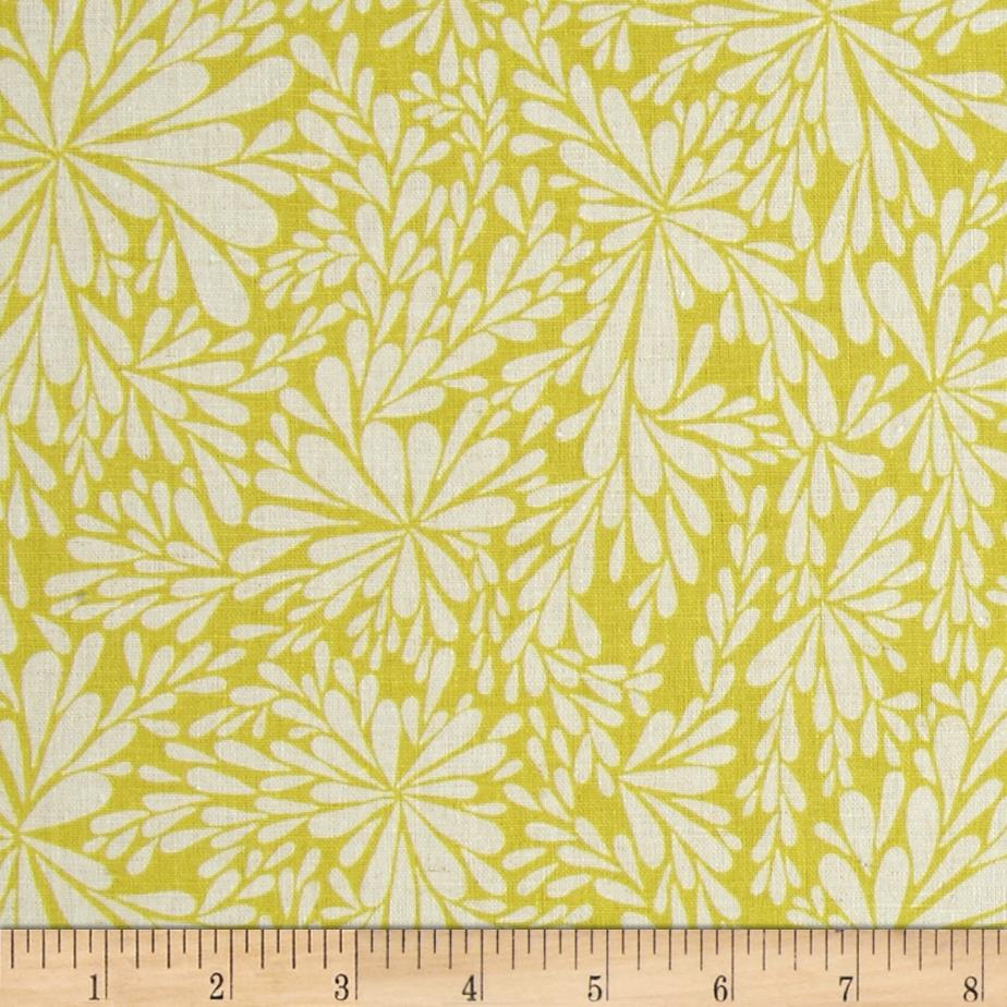 Valori Wells Floral Spray Essex Linen Bamboo